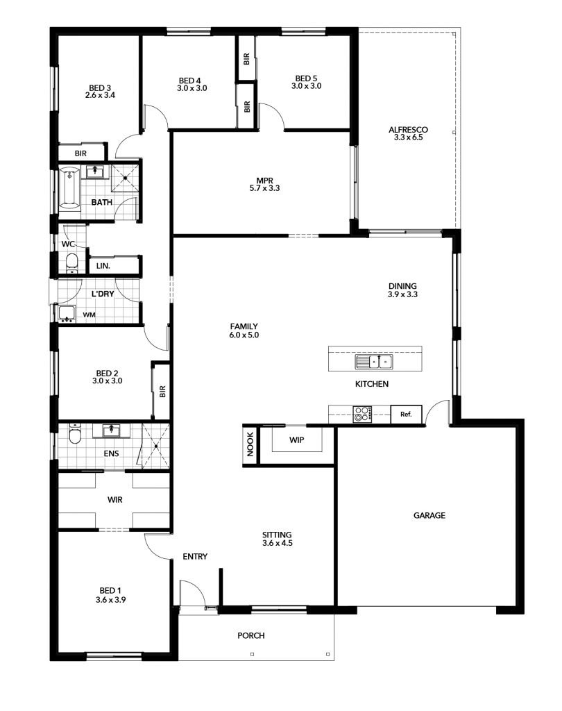 Kimberley Floor Plan