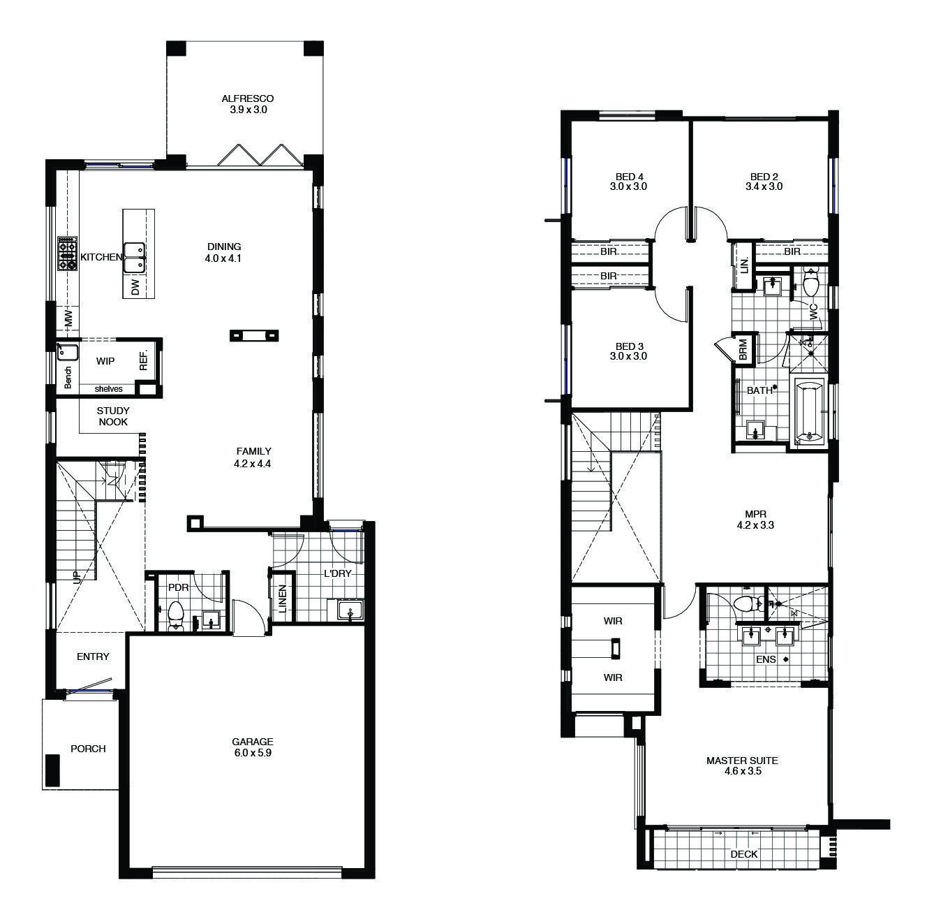Adina Floor Plan