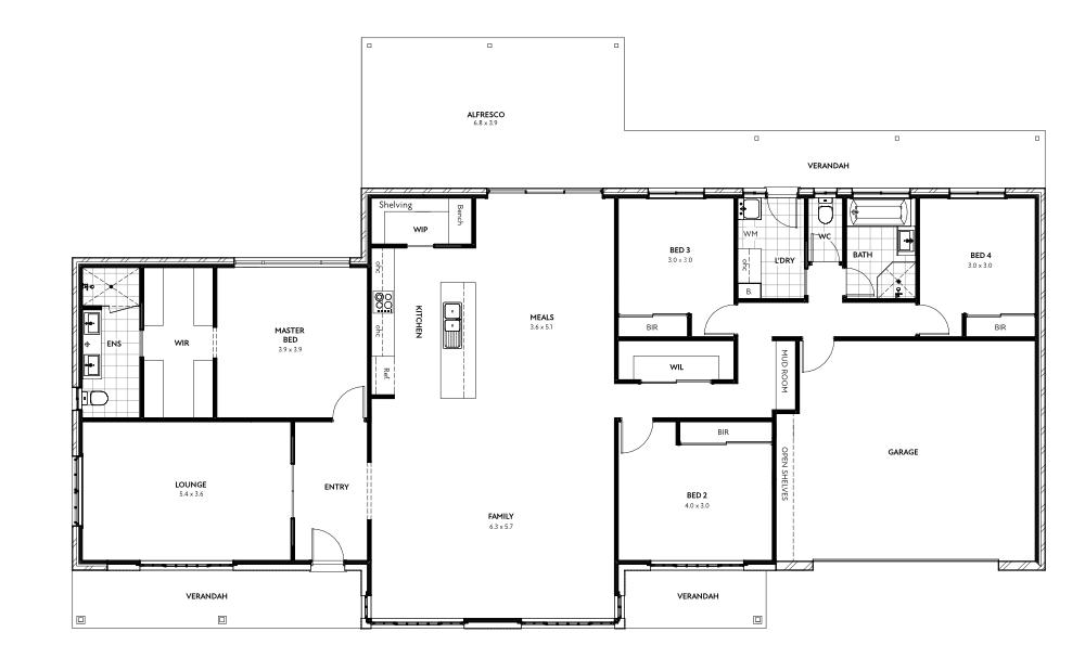 Ashfield Floor Plan