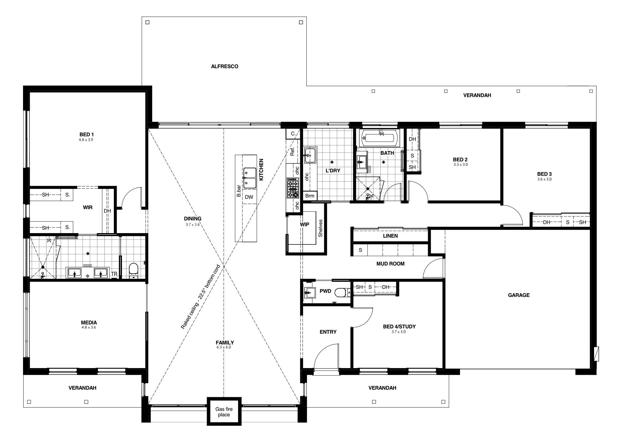 Berridale Floor Plan