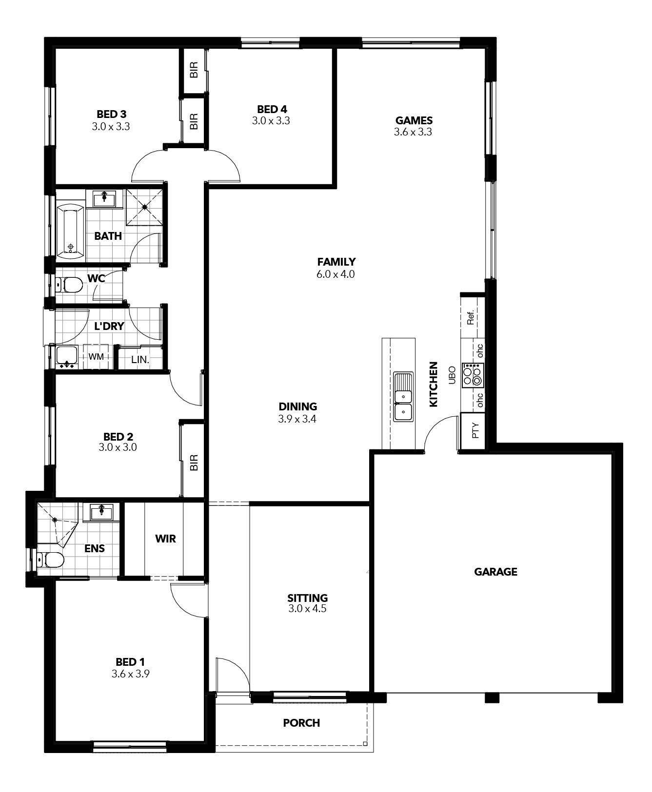 Franklin Floor Plan