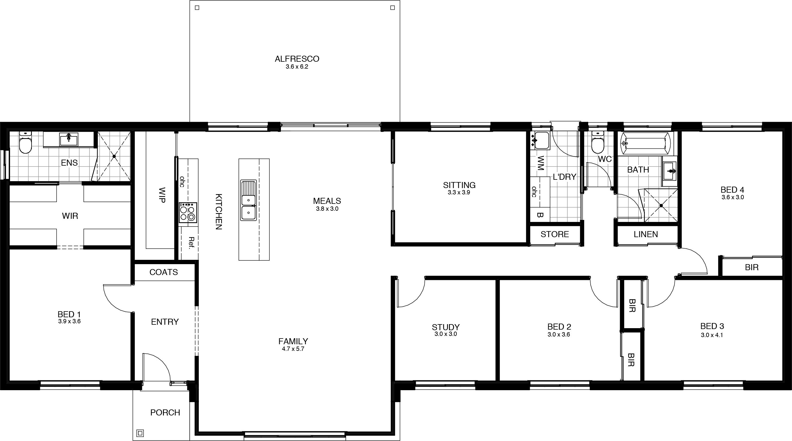 Greenleigh - Floor Plan