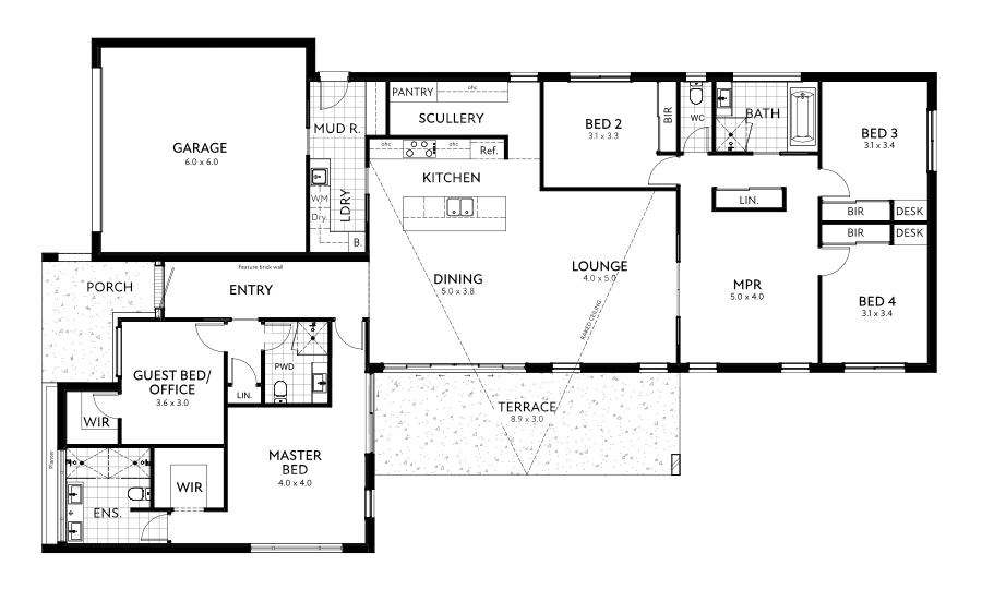 Lawson Floor Plan