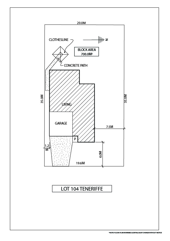 Lot 104 Teneriffe Site Plan (Milano)-80