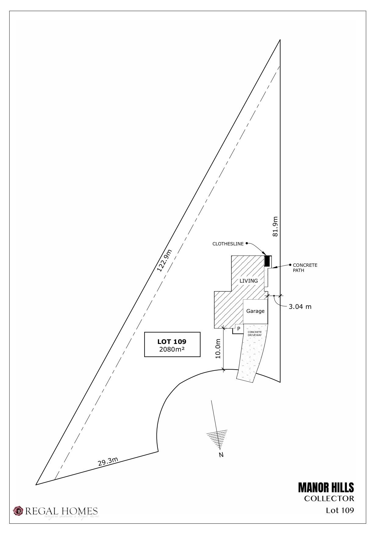 Lot 109 Collector - Site Plan (Lucca)