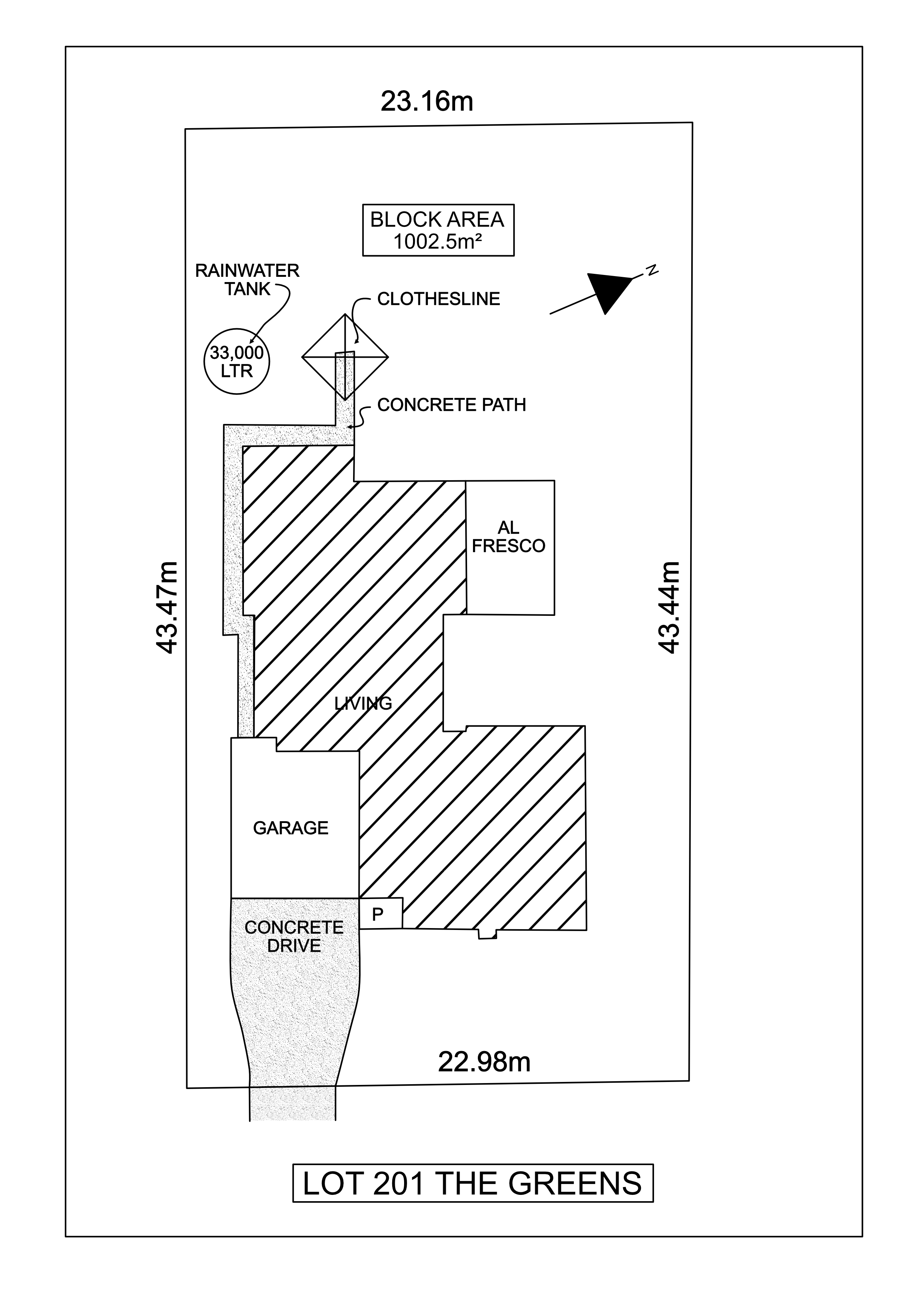 Lot 201 The Greens - Lodge Site Plan_1