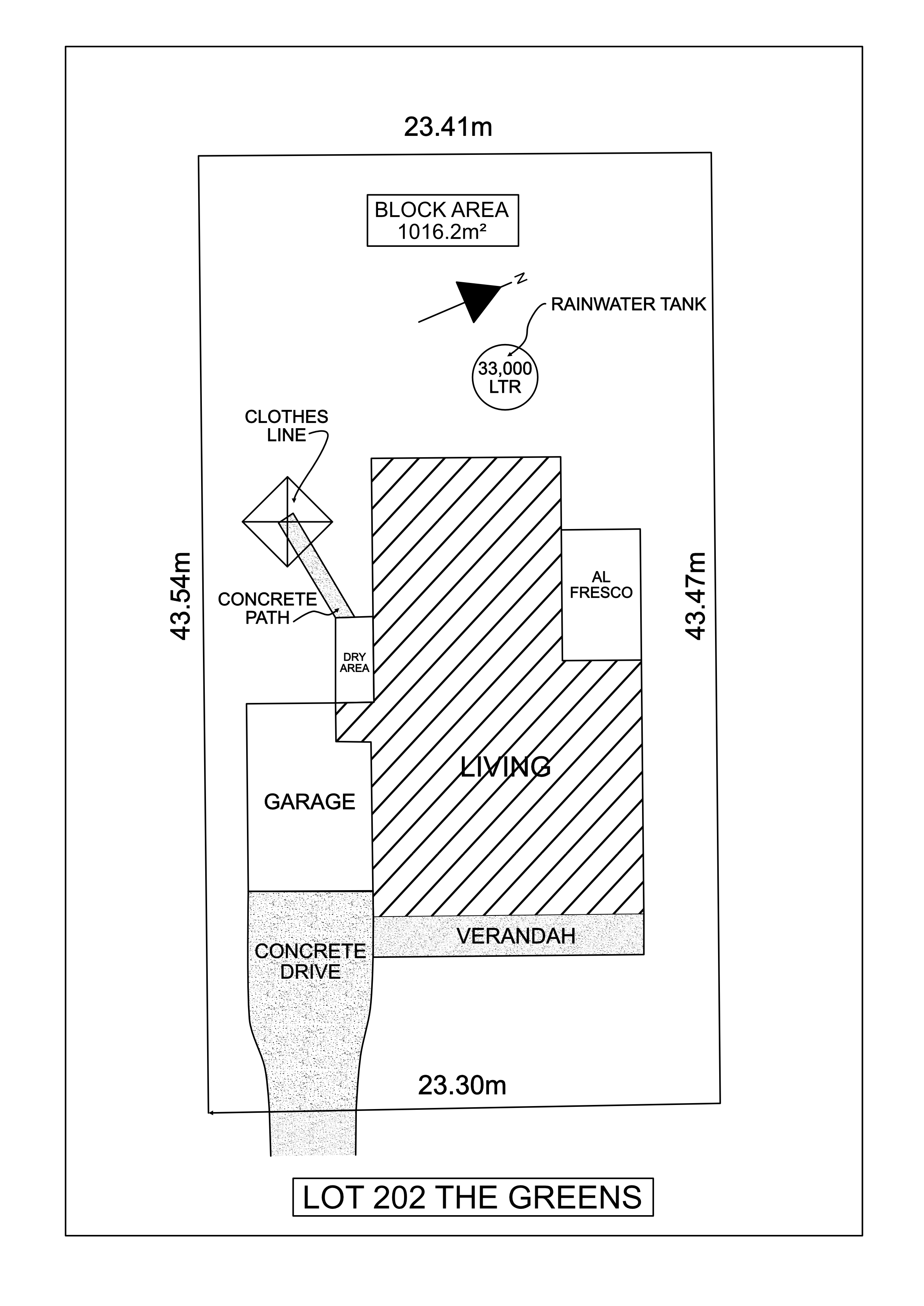 Lot 202 The Greens - Paterson Site Plan_1