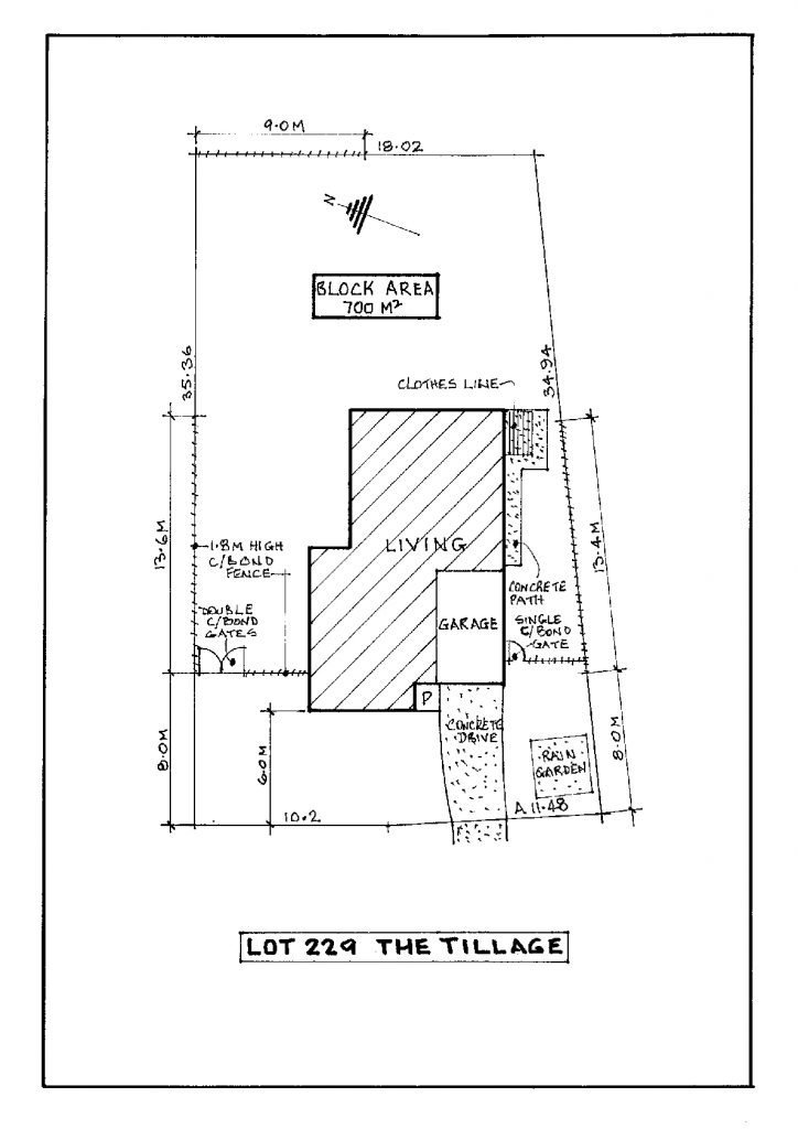 Lot 229 The TIllage site Plan - Abbey