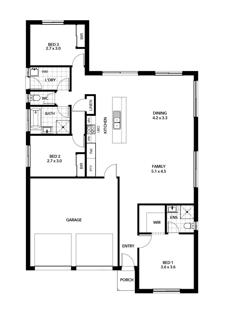 The Milano Floor Plan