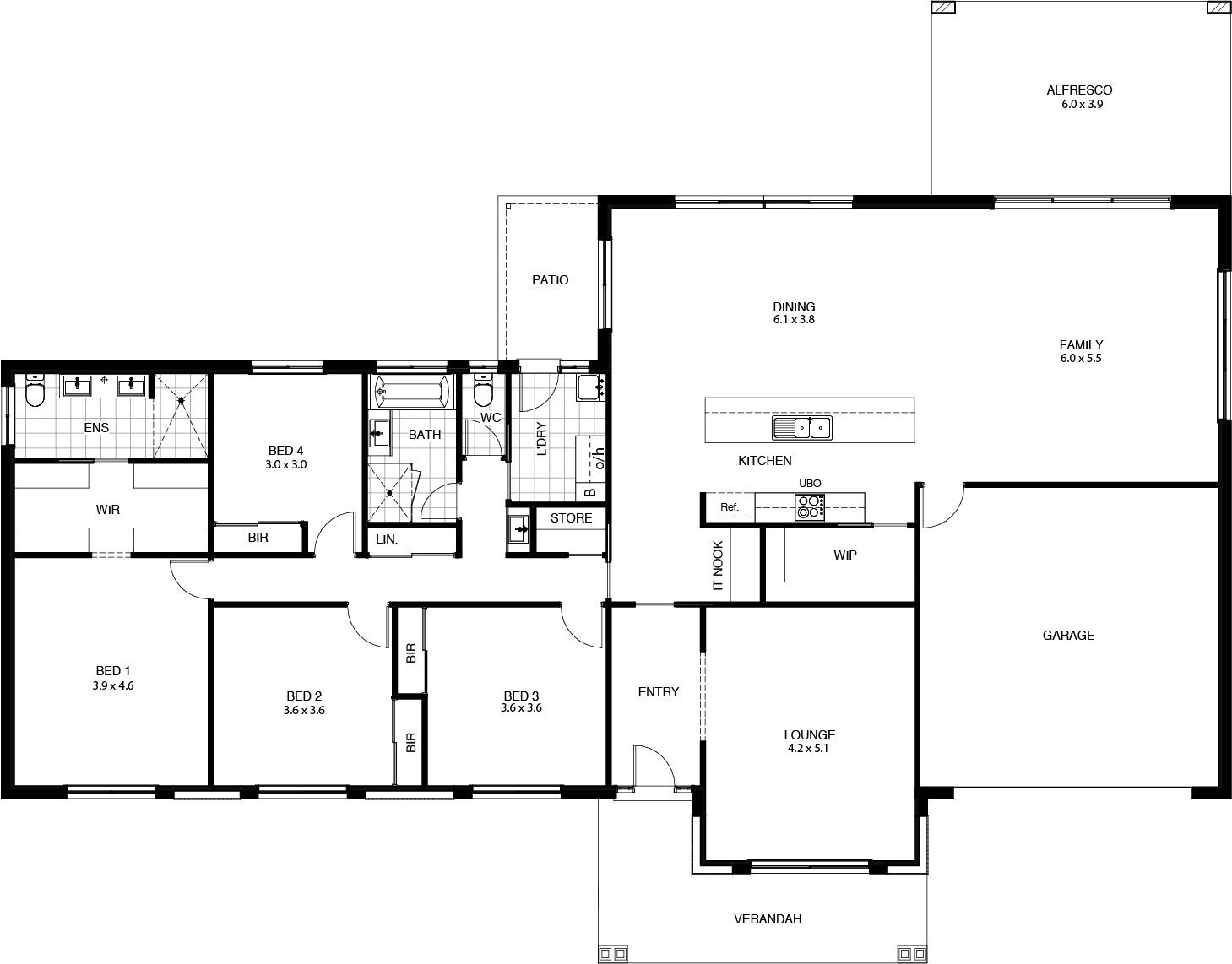 Sundance Floor Plan